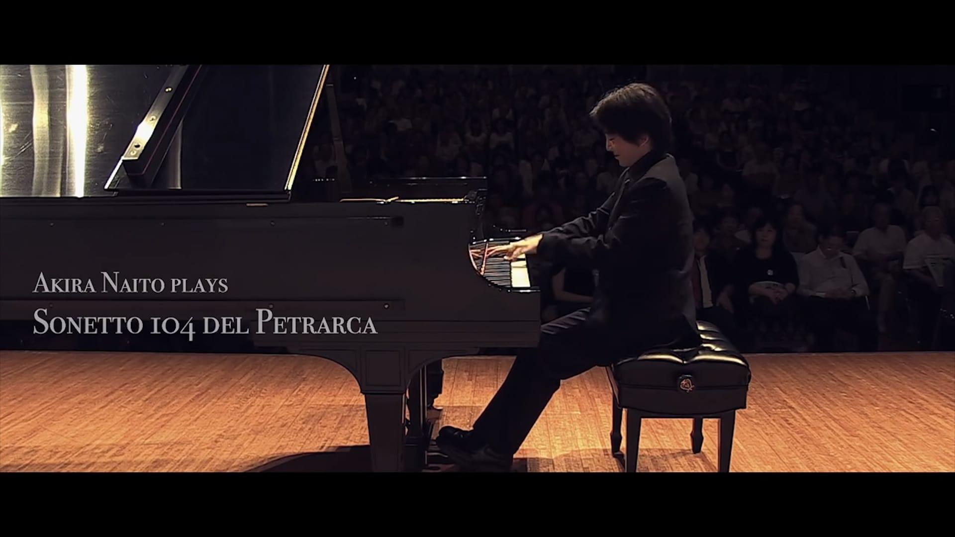 Liszt Sonetto 104 del Petrarca
